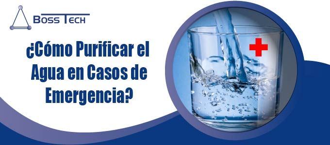 ¿Cómo purificar el agua en casos de emergencia?