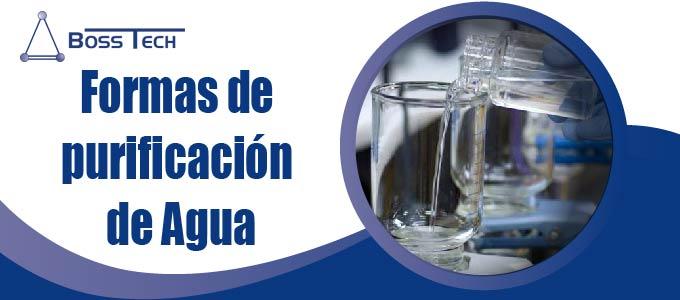 Formas de Purificación de Agua
