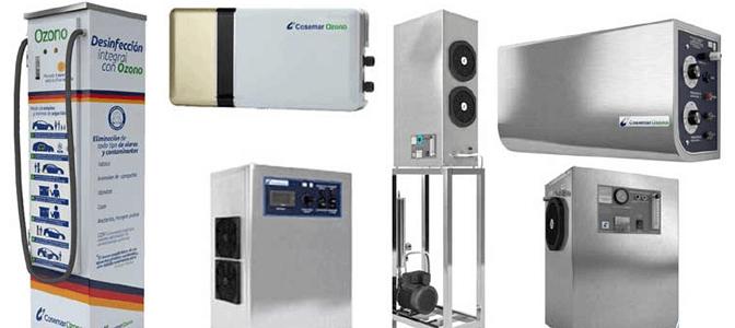 Tipos de generadores de ozono