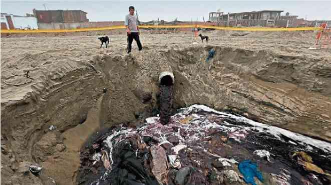 contaminacion agua peru bosstech