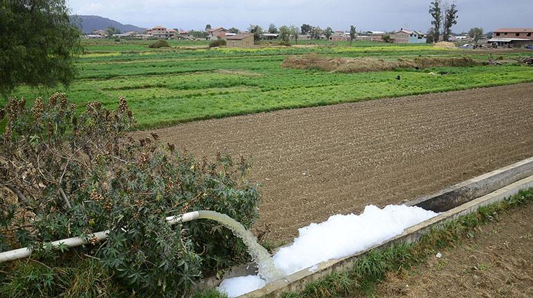 Aguas residuales en el Riego