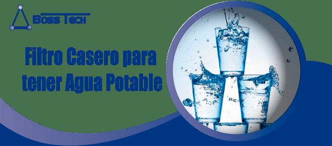 Filtro Casero Agua Potable Bosstech