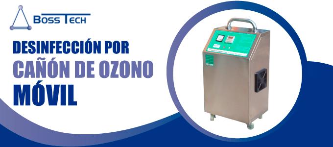 desinfeccion cañon ozono movil bosstech