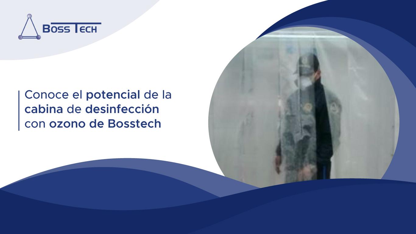 Potencial Cabina Desinfeccion Ozono Bosstech