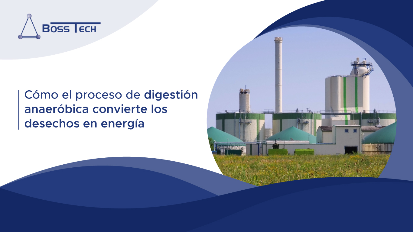 Cómo El Proceso De Digestión Anaeróbica Convierte Los Desechos En Energía