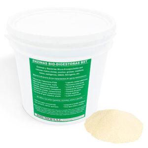 encimas bacterianas envase 22 kg