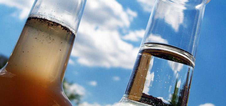 floculantes botellas