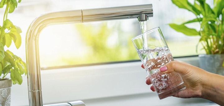 grifo agua vaso