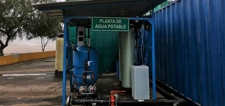 planta agua potable